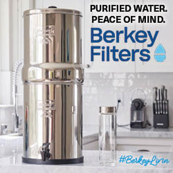 Purified Water. Peace of Mind. Berkey Filters.